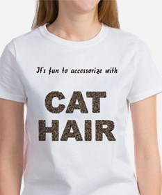 Accessorize With Cat Hair Women's T-Shirt