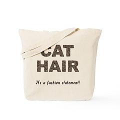 Cat Hair Fashion Tote Bag
