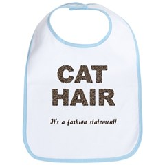 Cat Hair Fashion Bib