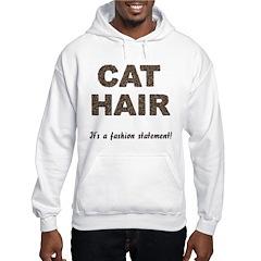 Cat Hair Fashion Hoodie