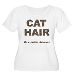 Cat Hair Fashion T-Shirt