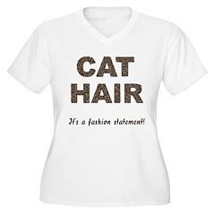Cat Hair Fashion T-Shirt