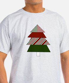 Retro Christmas Tree T-Shirt