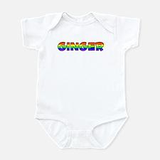 Ginger Gay Pride (#004) Infant Bodysuit