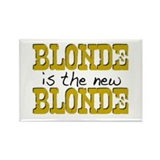 Blonde is the new Blonde Rectangle Magnet