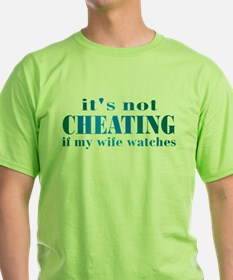 Wife Watches T-Shirt