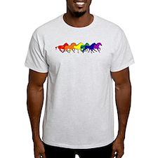Horses Running Wild T-Shirt