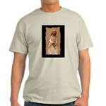 New Orleans cemetery statue Ash Grey T-Shirt