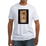New Orleans cemetery statue Fitted T-Shirt