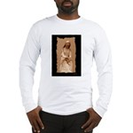 New Orleans cemetery statue Long Sleeve T-Shirt