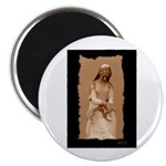 """New Orleans cemetery statue 2.25"""" Magnet (10 pack)"""