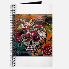 Sugar Skull Day of the Dead Artsy Original Journal