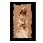 New Orleans cemetery statue Postcards (Package of