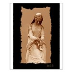 New Orleans cemetery statue Small Poster