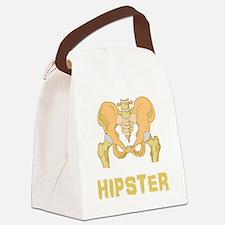 Hipster Hip Bone Canvas Lunch Bag