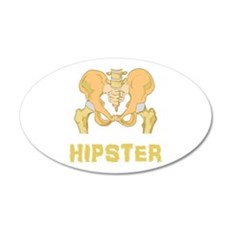 Hipster Hip Bone Wall Decal