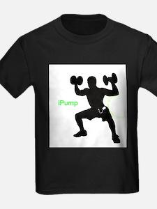 iPump (Mens) Ash Grey T-Shirt
