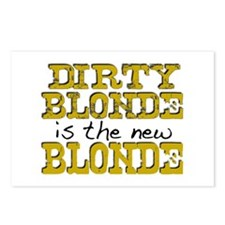 Dirty Blonde Postcards (Package of 8)