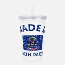 north dakota design Acrylic Double-wall Tumbler