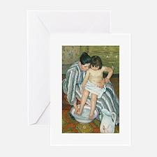 The Child's Bath - Mary Cassatt Greeting Cards