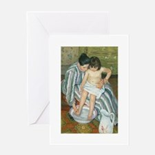 The Child's Bath - Mary Cassatt Greeting Cards