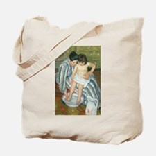 The Child's Bath - Mary Cassatt Tote Bag