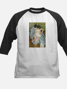 The Child's Bath - Mary Cassatt Baseball Jersey