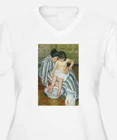 The Child's Bath - Mary Cassatt Plus Size T-Shirt
