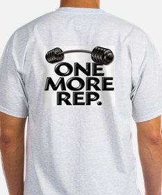 ONE MORE REP! Ash Grey T-Shirt