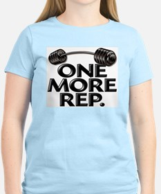 ONE MORE REP! Women's Pink T-Shirt