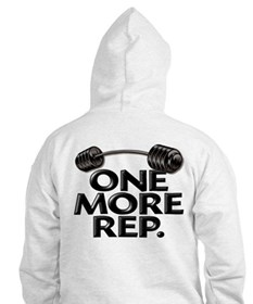 ONE MORE REP! Hoodie