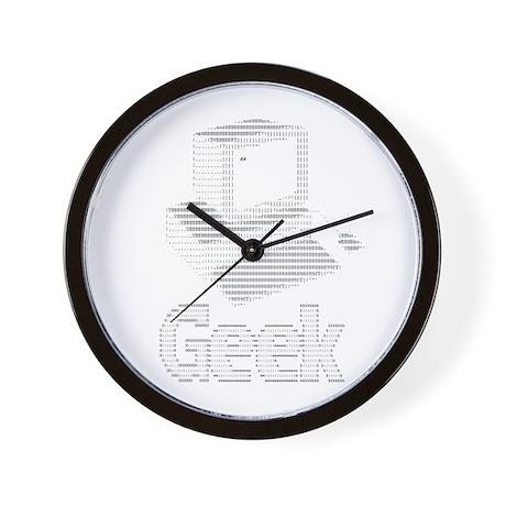 Ascii Computer Geek Wall Clock