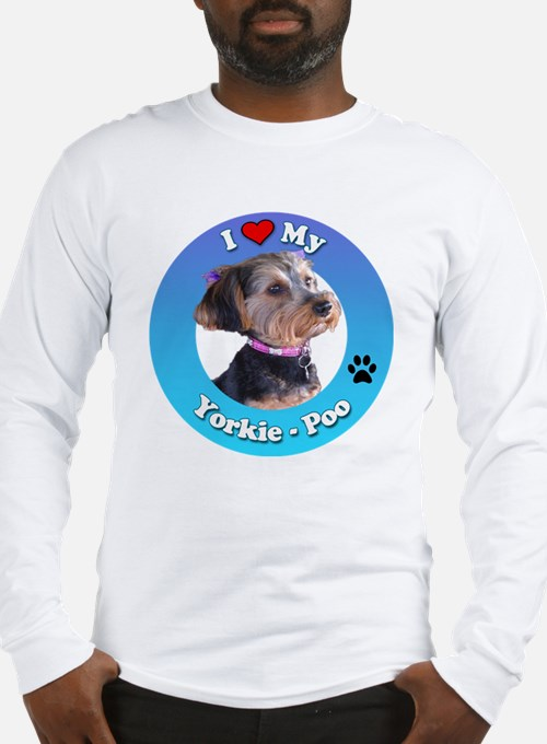 Cute Yorkie poo Long Sleeve T-Shirt
