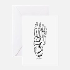 FOOT Greeting Cards