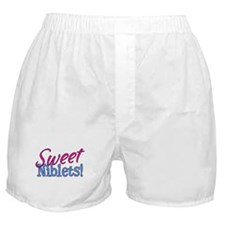 Sweet Niblets Quote Boxer Shorts