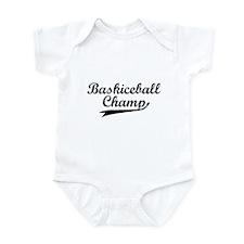 Baskiceball Infant Bodysuit