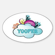 Retro Yooper Decal