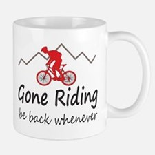 Gone riding be back whenever Mugs