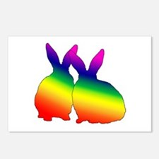 Bunny Love Postcards (Package of 8)