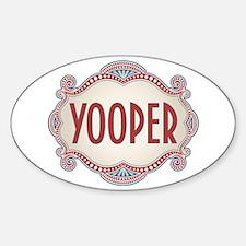 Retro Vintage Yooper Decal