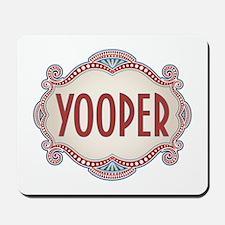 Retro Vintage Yooper Mousepad