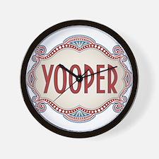 Retro Vintage Yooper Wall Clock