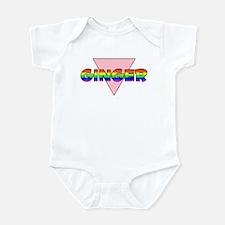Ginger Gay Pride (#002) Infant Bodysuit