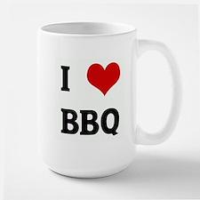 I Love BBQ Mugs