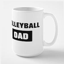 VOLLEYBALL Dad Mugs