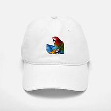 2 Macaws Baseball Baseball Cap