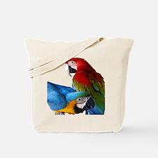 2 Macaws Tote Bag