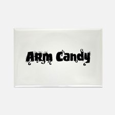 Arm Candy Rectangle Magnet