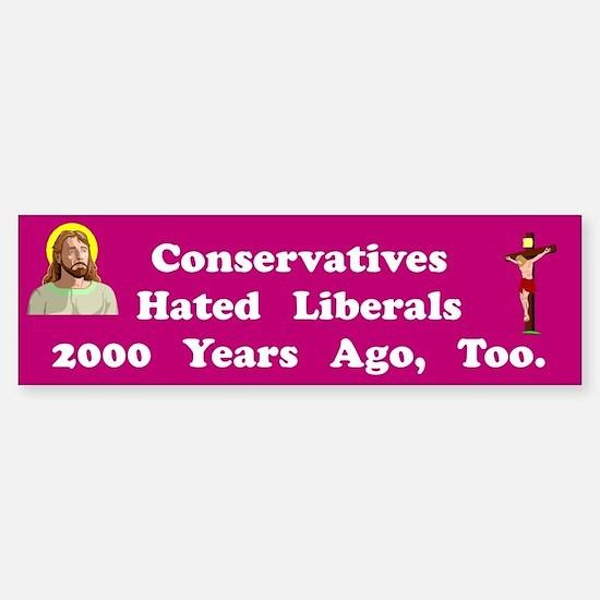 Hated Liberals #2 Bumper Bumper Bumper Sticker