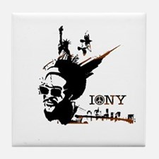 NY Afrolicious Tile Coaster